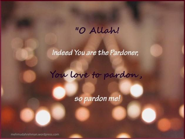 Dua for Laylatul Qadr